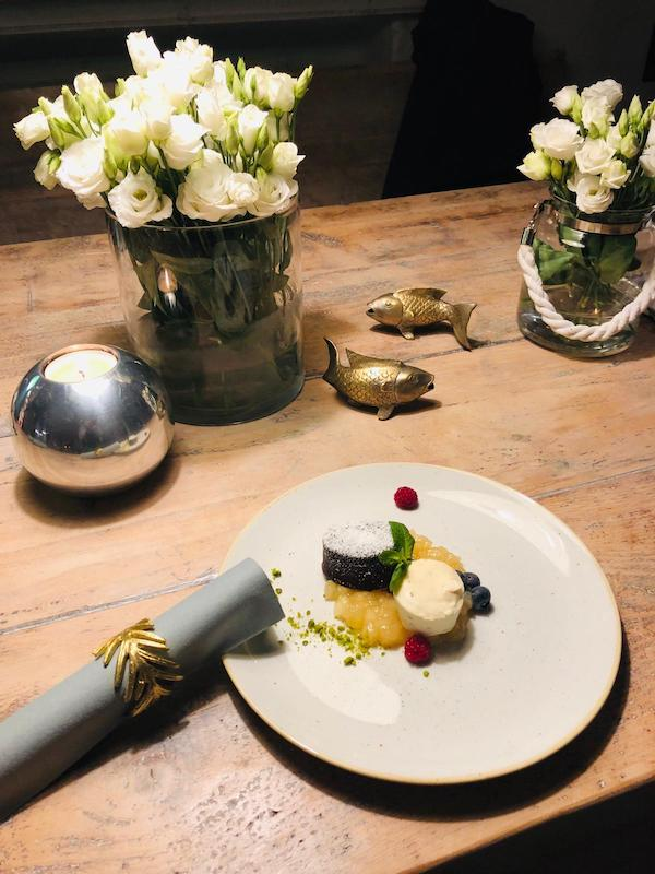 Dessert Schokoladenmalheur